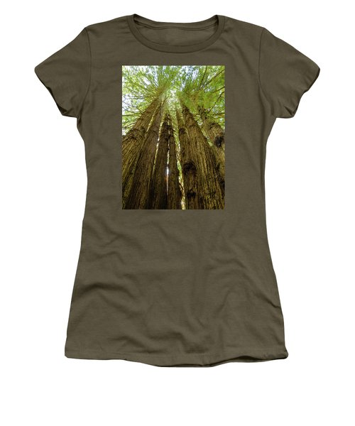 Tall Trees Women's T-Shirt (Athletic Fit)