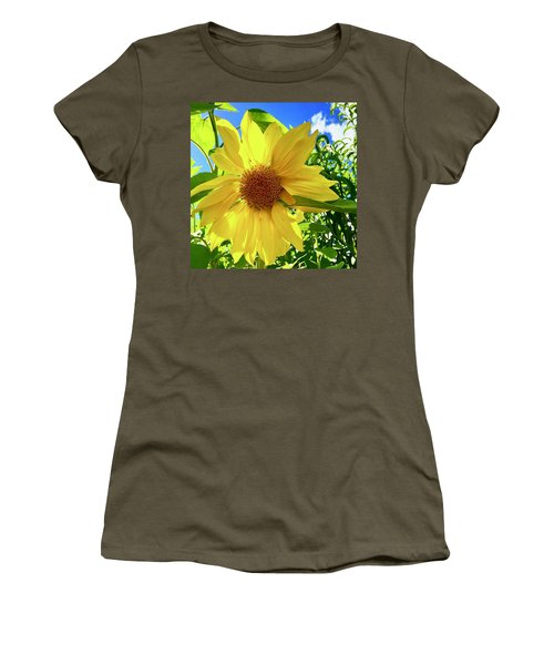 Tangled Sunflower Women's T-Shirt