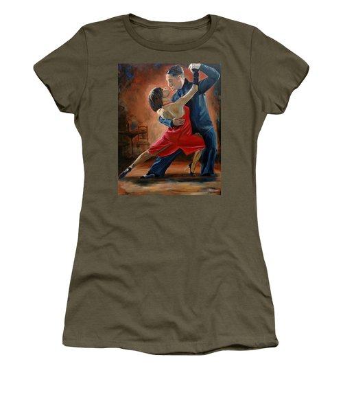 Tango Women's T-Shirt (Athletic Fit)