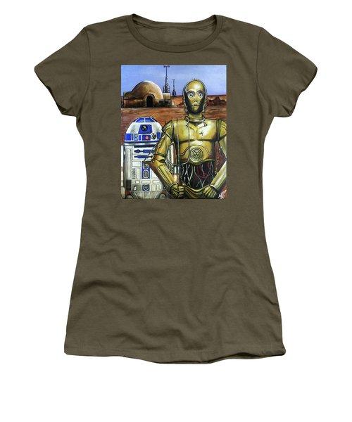 Tatoonie Gothic Women's T-Shirt (Junior Cut) by Tom Carlton