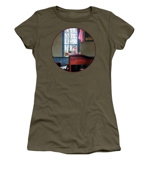 Teacher - Schoolmaster's Desk Women's T-Shirt