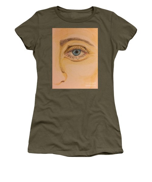 Tear Drop Women's T-Shirt (Athletic Fit)