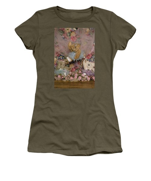 Teddy Bear Dancers Women's T-Shirt (Athletic Fit)