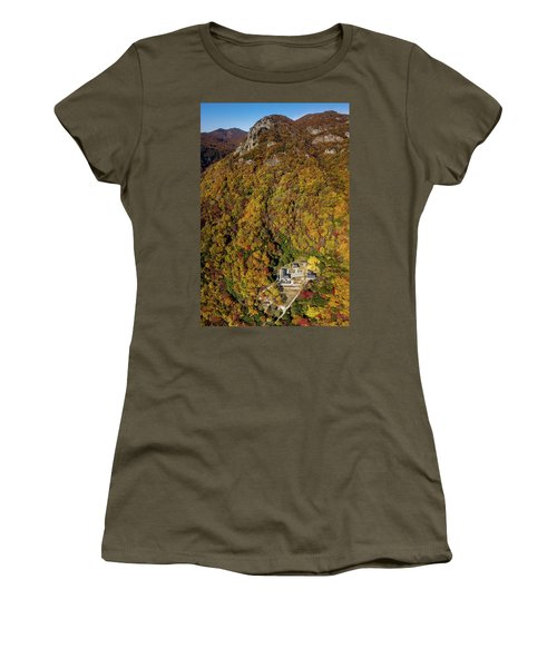 Temple In The Valley 2 Women's T-Shirt (Athletic Fit)