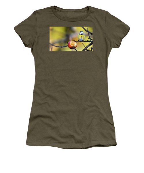 Women's T-Shirt (Junior Cut) featuring the photograph Tempting by Torbjorn Swenelius