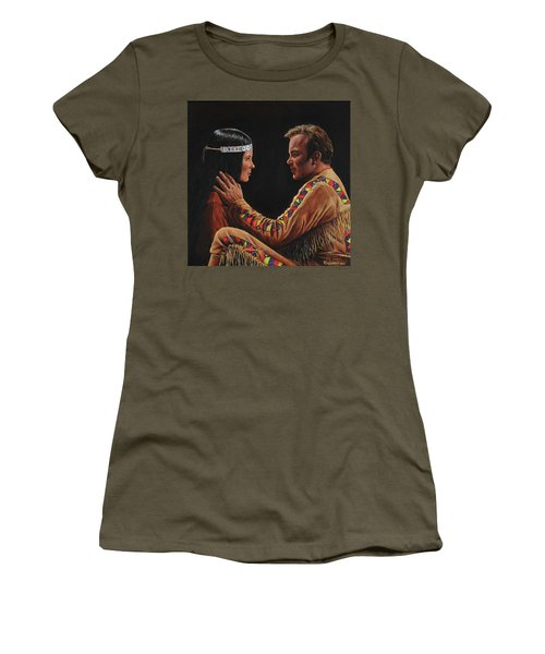 Tenderness In His Touch Women's T-Shirt