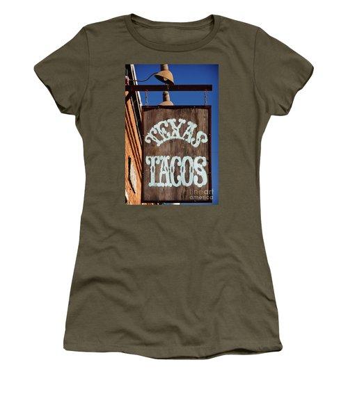 Texas Tacos Women's T-Shirt