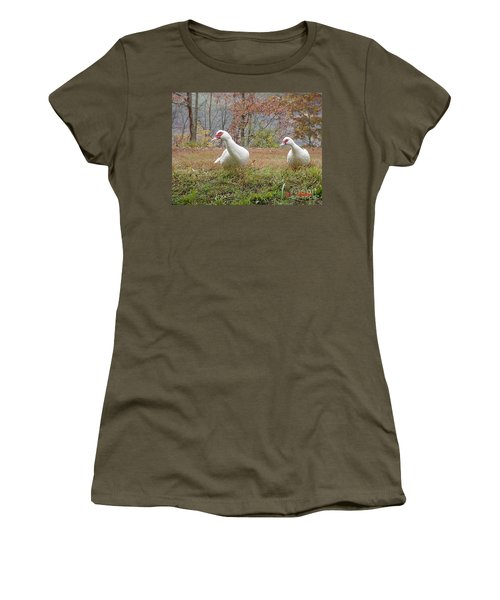 Women's T-Shirt featuring the photograph That A Way by Donald C Morgan