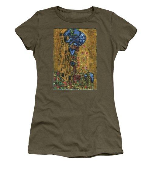 The Alien Kiss By Blastoff Klimt Women's T-Shirt