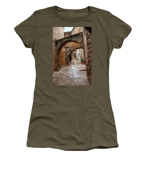 The Archways Of Villecroz Women's T-Shirt (Athletic Fit)