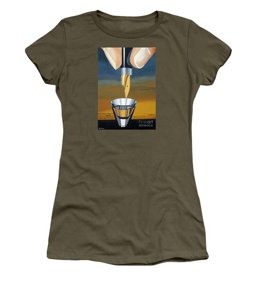 The Author Women's T-Shirt (Junior Cut) by Lyric Lucas