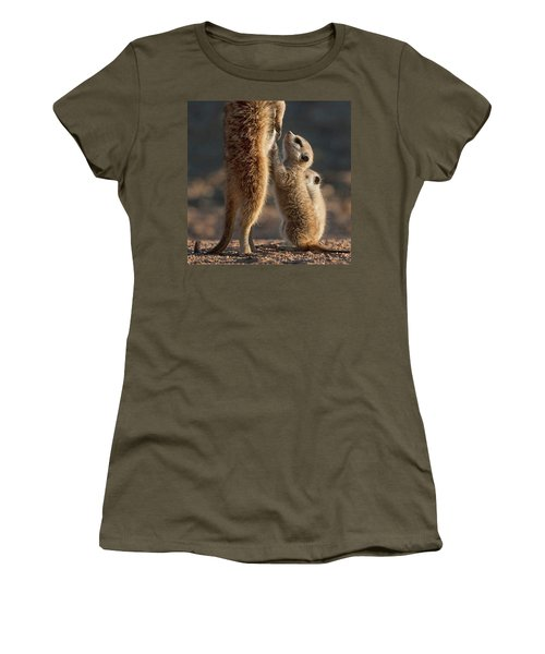 The Baby Is Hungry Women's T-Shirt (Athletic Fit)