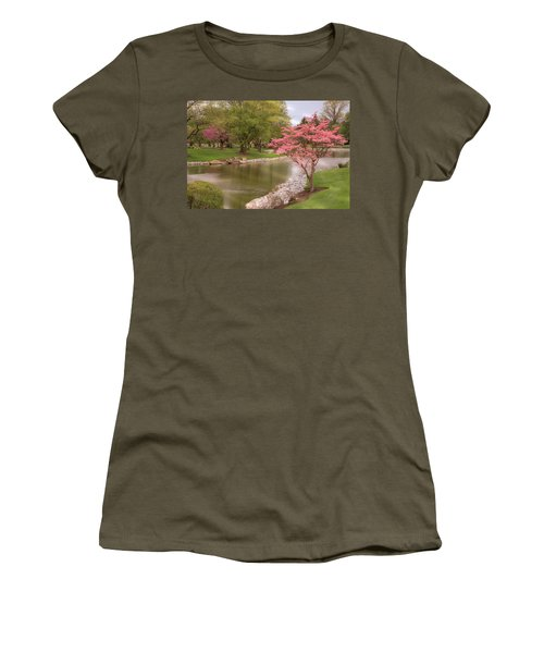Women's T-Shirt featuring the photograph The Beauty Of Spring by Angie Tirado