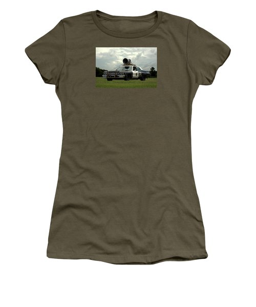 The Bluesmobile Women's T-Shirt (Junior Cut) by Tim McCullough