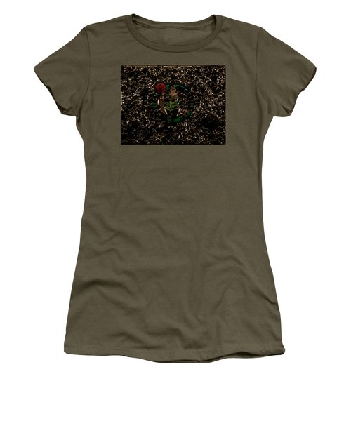 The Boston Celtics 1b Women's T-Shirt (Junior Cut) by Brian Reaves