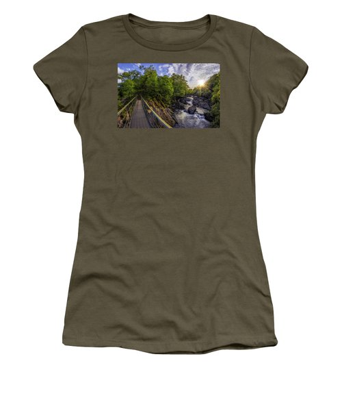 The Bridge To Summer Women's T-Shirt (Junior Cut) by Ian Mitchell
