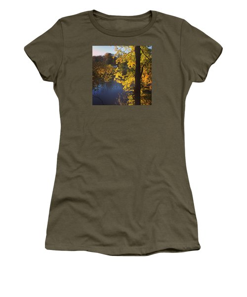 The Brilliance Of Nature Leaves Me Speechless Women's T-Shirt (Junior Cut) by Jason Nicholas