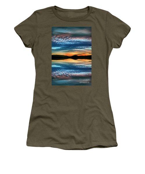The Brush Strokes Of Evening Women's T-Shirt