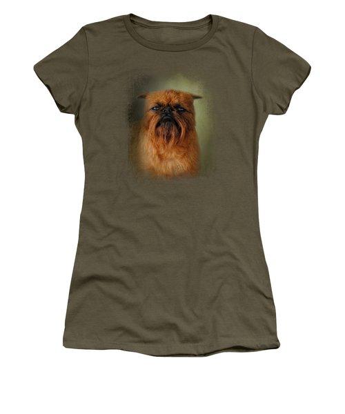 The Brussels Griffon Women's T-Shirt (Junior Cut) by Jai Johnson