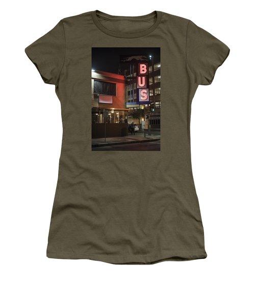 The Bus Stop Women's T-Shirt