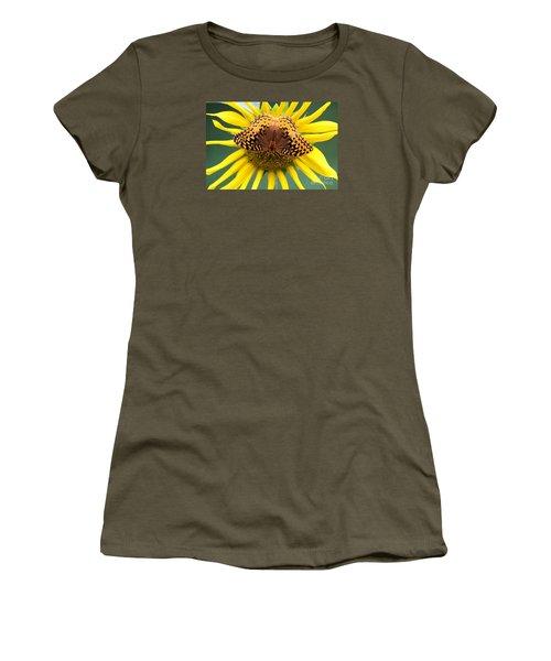 The Butterfly Effect Women's T-Shirt (Junior Cut) by Tina  LeCour