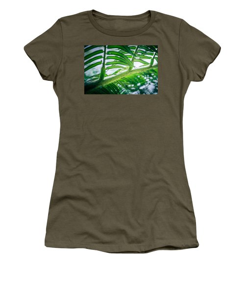 The Camouflaged Women's T-Shirt
