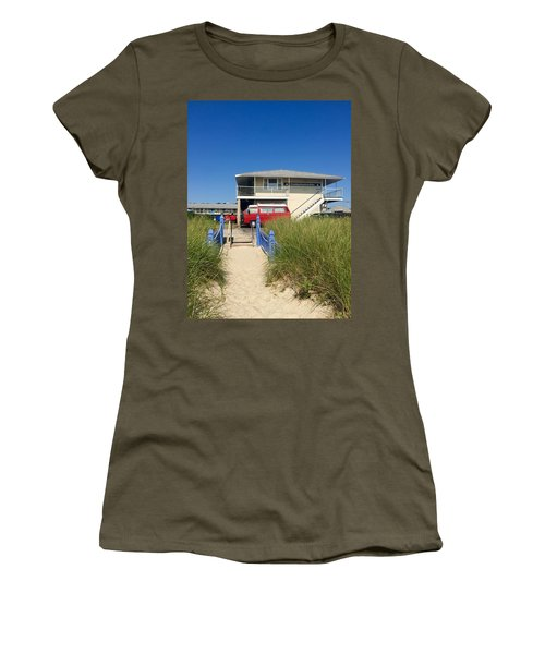 The Canadians Are Here Women's T-Shirt (Athletic Fit)