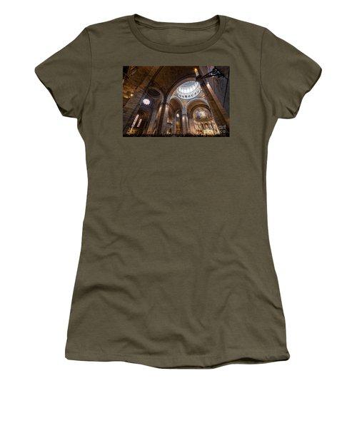 The Candle Women's T-Shirt (Junior Cut) by Giuseppe Torre