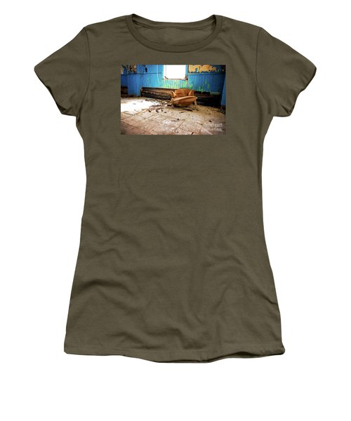 Women's T-Shirt (Junior Cut) featuring the photograph The Chair by Randall Cogle