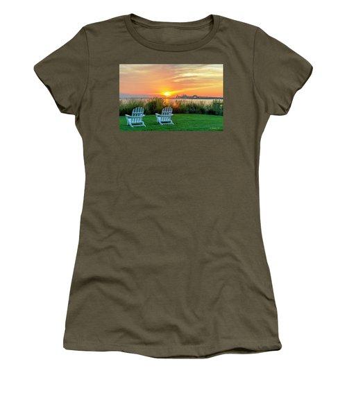 The Chesapeake Women's T-Shirt (Junior Cut) by Brian Wallace