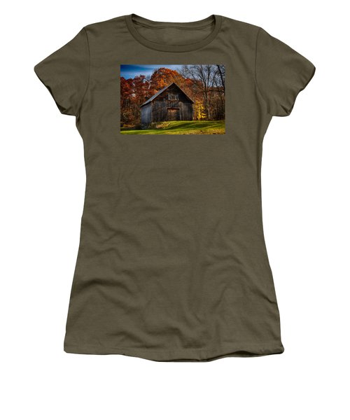 The Chester Farm Women's T-Shirt (Junior Cut) by Tricia Marchlik