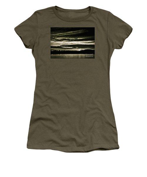 The Coast At Night Women's T-Shirt