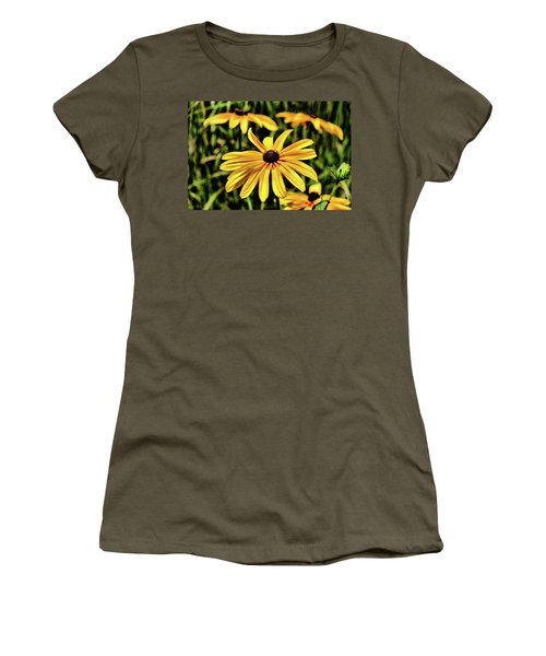 Women's T-Shirt (Athletic Fit) featuring the photograph The Colors And Details by Monte Stevens