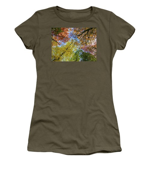 The Colors Of Autumn Women's T-Shirt (Athletic Fit)