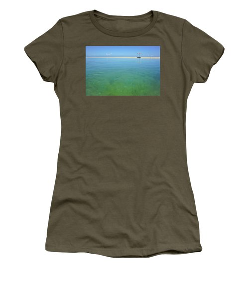 The Colours Of Paradise On A Summer Day Women's T-Shirt