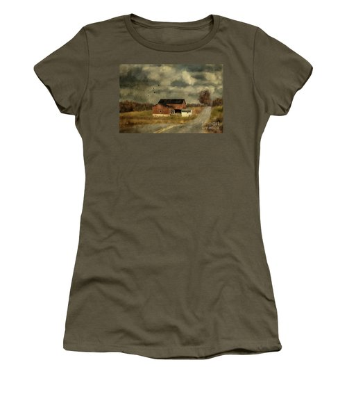 The Coming On Of Winter Women's T-Shirt (Junior Cut) by Lois Bryan