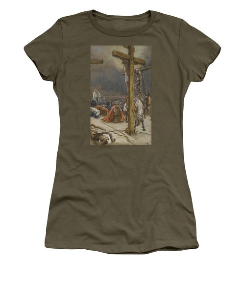 The Confession Of Saint Longinus Women's T-Shirt