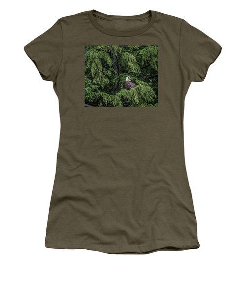 The Dark Eyed One Women's T-Shirt (Junior Cut) by Timothy Latta