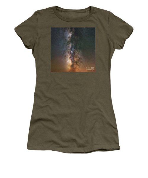 The Dark Heart Square Version  Women's T-Shirt
