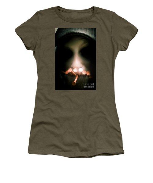 The Dark Side Of Golf Women's T-Shirt