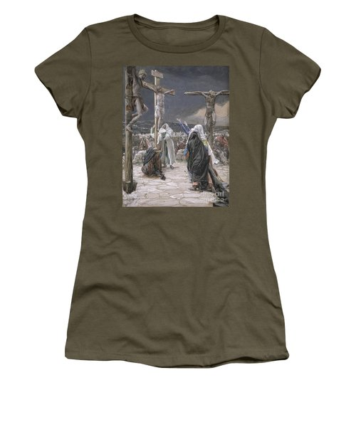 The Death Of Jesus Women's T-Shirt