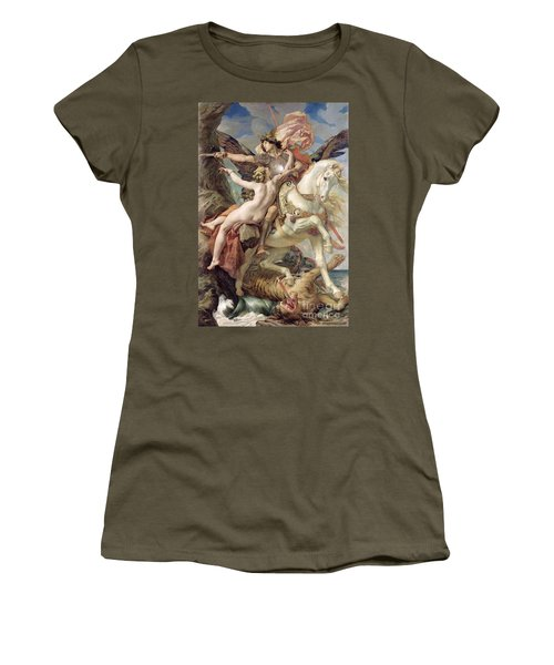 The Deliverance Women's T-Shirt (Junior Cut) by Joseph Paul Blanc