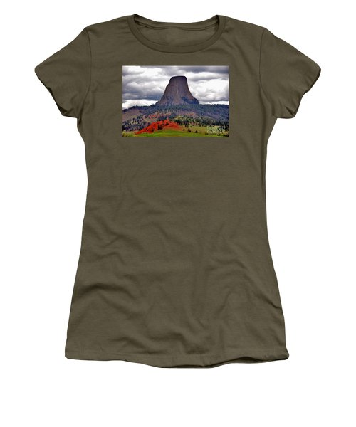 The Devils Tower Wy Women's T-Shirt