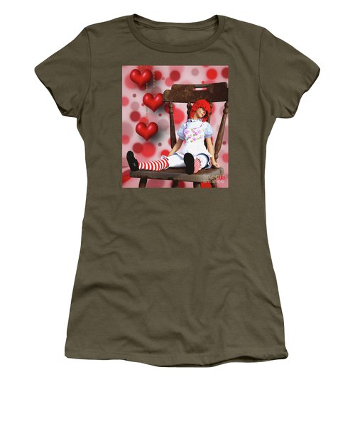 Raggedy Raggedy Women's T-Shirt (Athletic Fit)