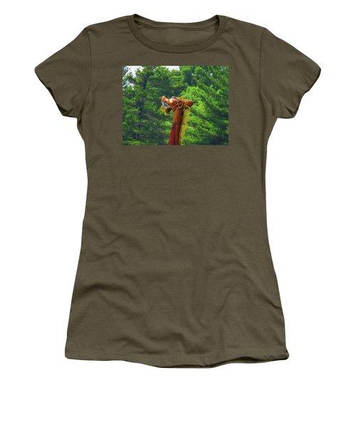 The Draken's Head Women's T-Shirt (Athletic Fit)