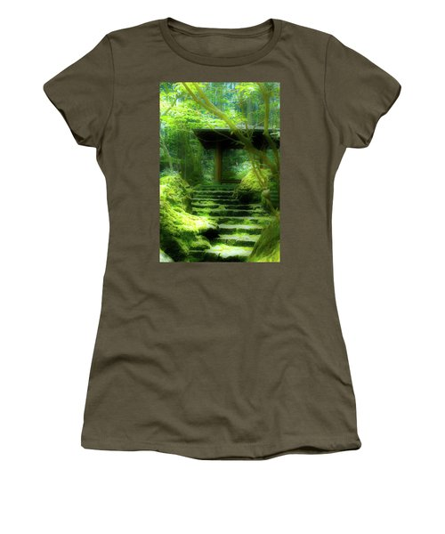 The Emerald Stairs Women's T-Shirt