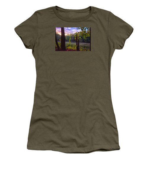 The End Of The Day Women's T-Shirt (Junior Cut) by Tricia Marchlik