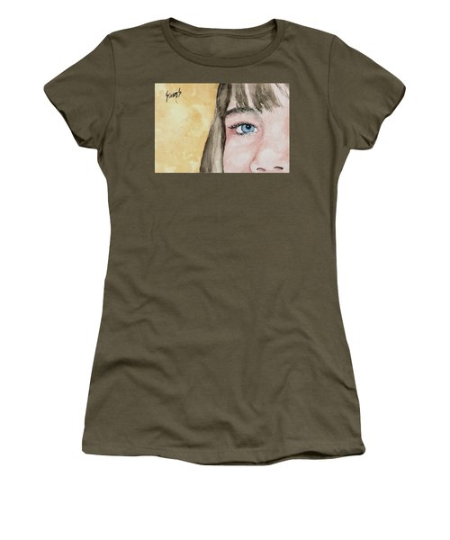 The Eyes Have It - Bryanna Women's T-Shirt (Athletic Fit)