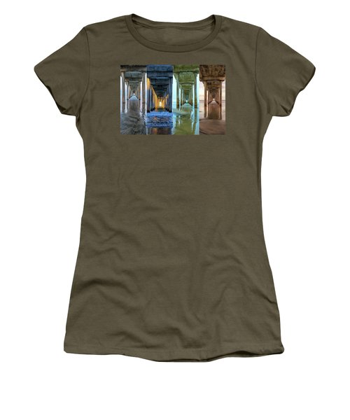 The Faces Of Scripps Pier #4 Women's T-Shirt