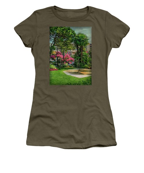 Women's T-Shirt (Athletic Fit) featuring the photograph The Fancy Swiss South-west by Hanny Heim